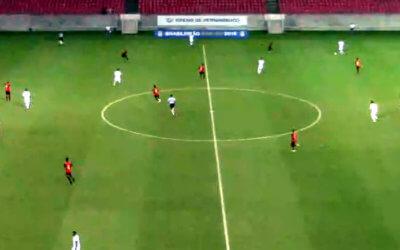 Ao vivo | Transmissão de Sport x Atlético-MG, no Sub 20, via FPF TV