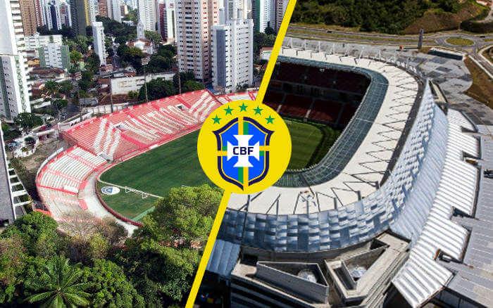 Seleção Olímpica com amistosos nos Aflitos (inédito) e Arena Pernambuco