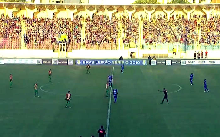 Ao vivo | Transmissão de Confiança x Sampaio Corrêa, a semifinal da Série C