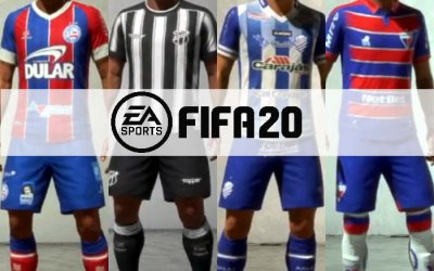 Game   Os uniformes e níveis dos 4 nordestinos licenciados no Fifa 20