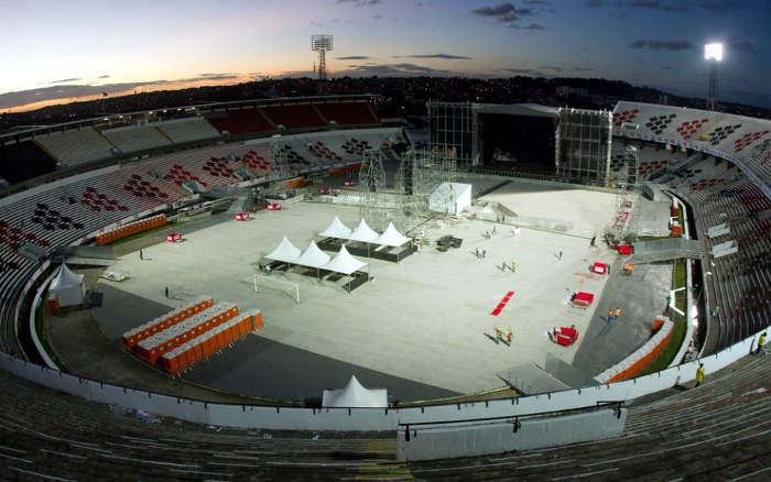 Os maiores públicos em shows (ou eventos) nos estádios de Pernambuco