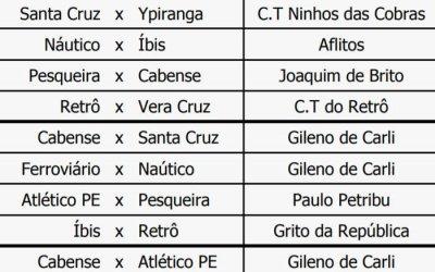 Copa Pernambuco enfim ganha tabela, com mais times inscritos e jogos em CT
