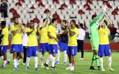 Seleção Olímpica goleia a Venezuela no 1º jogo nos Aflitos em 102 anos