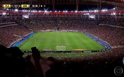 TV   As audiências de Flamengo x Grêmio, a semifinal da Libertadores na Globo