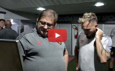 Vídeo | Os bastidores de Sport 2 x 1 Paraná, pela Série B de 2019