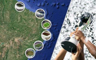Candidatura do Brasil aponta Mundial Sub 20 todo no Nordeste, em 6 estádios