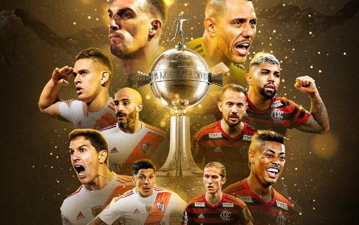 River Plate x Flamengo, a 15ª final da Libertadores entre argentinos e brasileiros