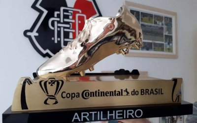 Com Pipico, Santa soma a 6ª artilharia nacional. Ao todo, 45 goleadores de 20 clubes do NE