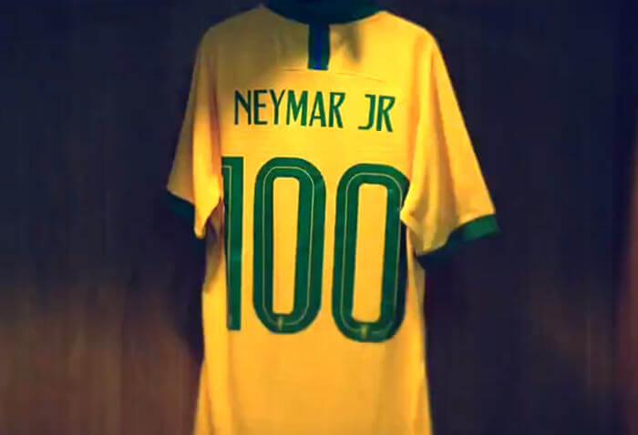 Neymar vira o 7º jogador com 100 partidas oficiais na Seleção. Vai até quanto?