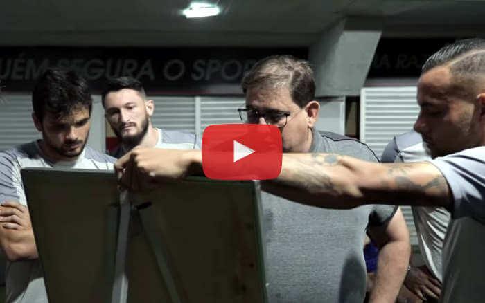 Vídeo | Os bastidores de Sport 1 x 0 Criciúma, pela Série B de 2019
