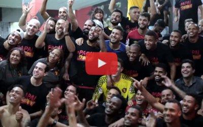Vídeo | Os bastidores do acesso do Sport no Brasileiro, da B pra A