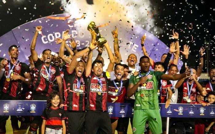 Vitória amplia o próprio recorde com o penta na Copa do Nordeste Sub 20
