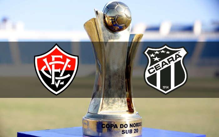Vitória x Ceará, a final nordestina do Sub 20. Valendo o penta ou o 1º título