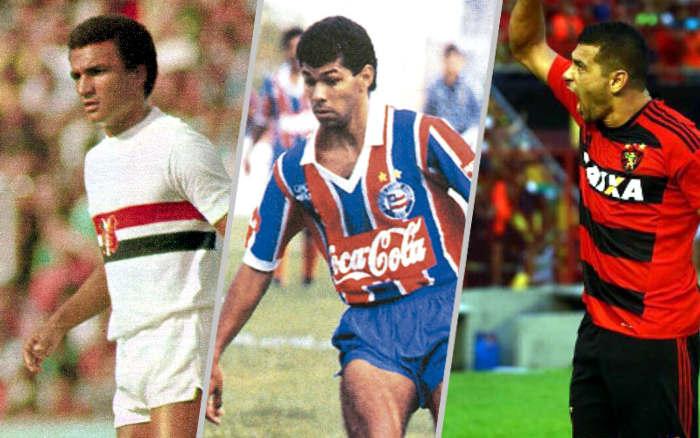 Os maiores artilheiros do Nordeste no Brasileirão, a partir de 10 gols