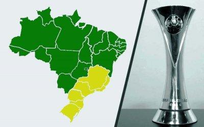 Definida a Série C de 2020, com Norte, Nordeste e Centro-Oeste reunidos