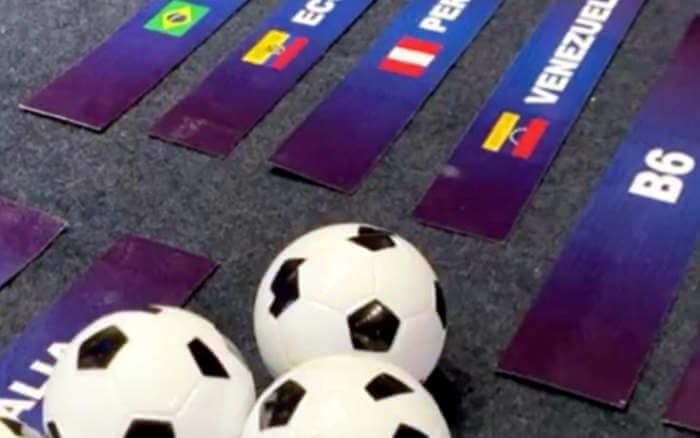 Sorteio define destino dos convidados e forma a tabela da Copa América 2020
