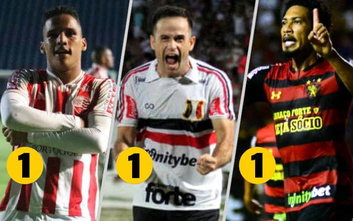 Análise | Thiago (Náutico), Pipico (Santa Cruz) e Hernane (Sport), os melhores de 2019