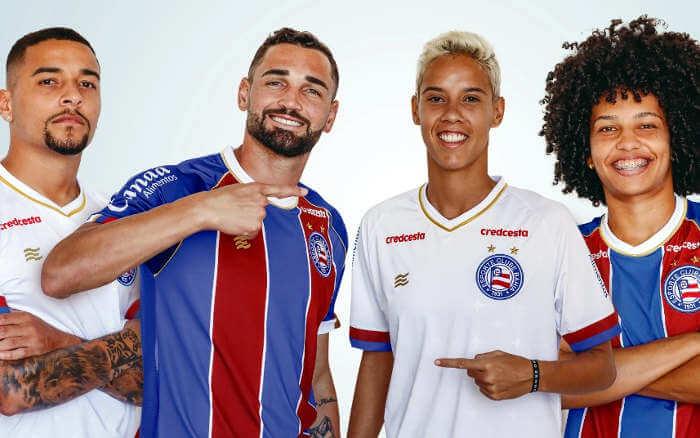 Bahia lança linha de uniformes para 2020 após votação com 50 mil pessoas