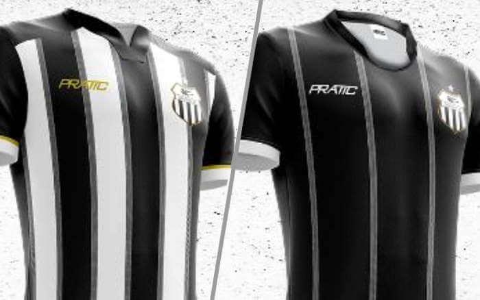 A linha de uniformes do Central para 2020. Sai Super Bolla, entra Pratic