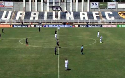 Ao vivo | Transmissão de Náutico x Jaguariúna, pela 2ª rodada da Copa SP
