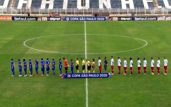 Ao vivo | Transmissão de Náutico x Santo André, pela 3ª rodada da Copa SP