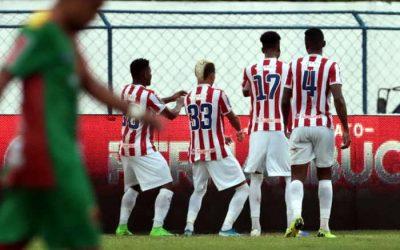 Com equipe mista, Náutico vence o Petrolina com gol de Erick aos 43/2T