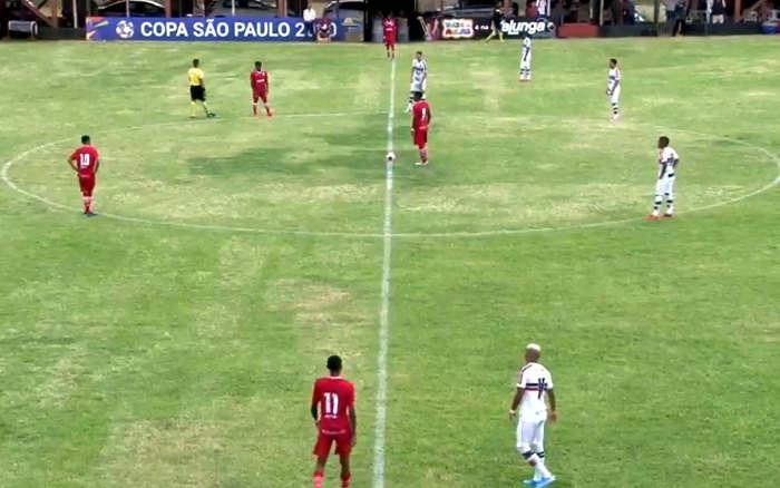 Ao vivo | Transmissão de Santa Cruz x América (RJ), pela 1ª rodada da Copa SP