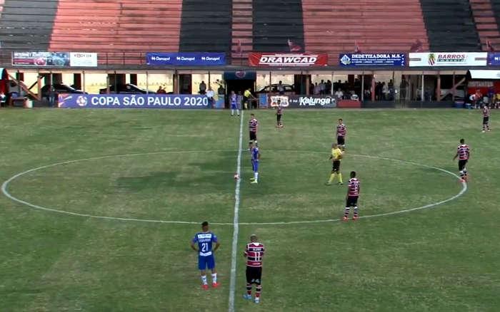 Ao vivo | Transmissão de Santa Cruz x Guarulhos, pela 2ª rodada da Copa SP
