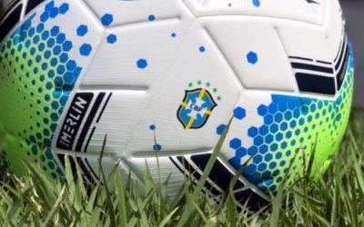 A bola das três competições nacionais de elite em 2020. Série A, Copa e Super