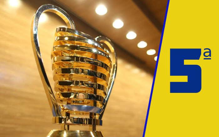 A classificação da Copa do Nordeste de 2021 após a 5ª rodada; dupla de Maceió na liderança