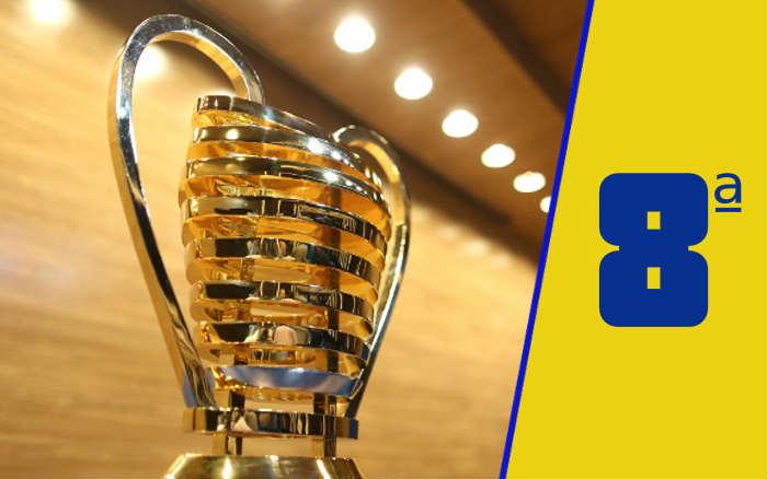 A classificação da Copa do Nordeste de 2021 após a 8ª rodada; cearenses na ponta