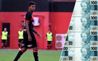 Lucas Ribeiro torna-se a maior venda do Nordeste. Do Vitória ao Hoffenheim