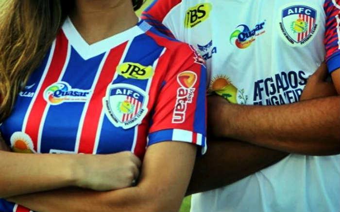 Os uniformes do Afogados para a 1ª participação na Copa do Brasil