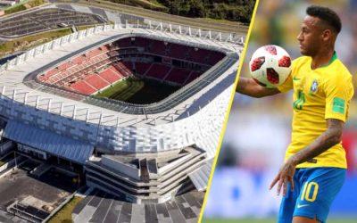 Ingressos para a Seleção Brasileira na Arena Pernambuco vão de R$ 40 a R$ 400