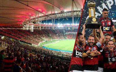 Flamengo ergue a Recopa no Maracanã e sobe no ranking de taças internacionais