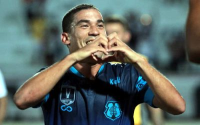 Santa Cruz marca aos 49 e vence o ABC, voltando à briga na Copa do Nordeste