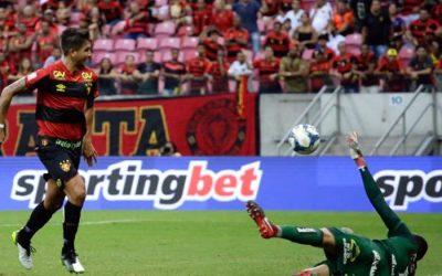 Sport desperdiça chances e empata com o Vitória na Arena pelo Nordestão