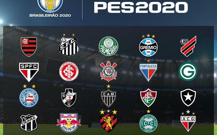 Game | Pro Evolution Soccer atualiza o Brasileiro 2020, agora com 10 nordestinos