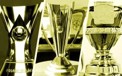 As 18 taças nacionais oferecidas pela CBF, agora com a Supercopa do Brasil