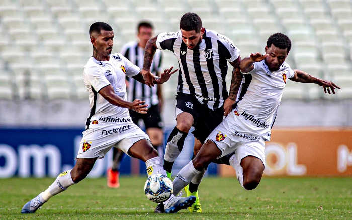 Sport perde de virada do Ceará e sai do G4 do Nordestão. Faltando 1 rodada