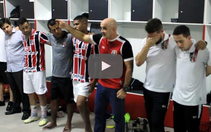 Vídeo | Os bastidores de Santa Cruz 3 x 0 Botafogo-PB, pelo Nordestão de 2020