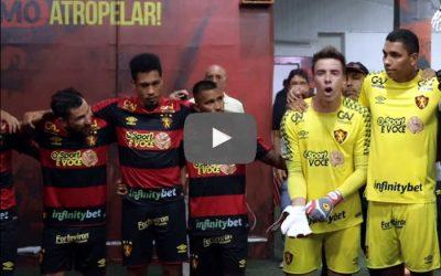 Vídeo | Os bastidores de Sport 1 x 0 Santa Cruz, pelo Nordestão de 2020