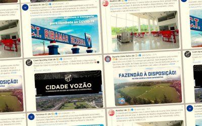 Coronavírus | Pela coletividade, clubes do Nordeste cedem instalações à Saúde