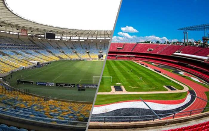 Covid | A capacidade dos estádios em 30%, o público com aval do Ministério da Saúde