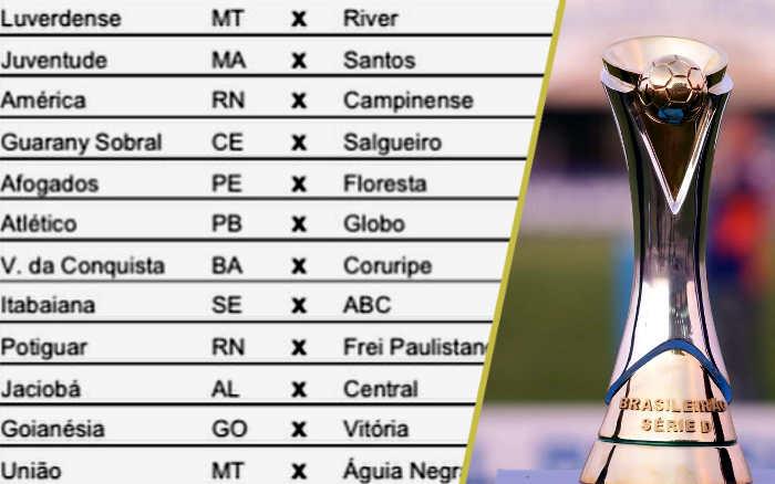 A Tabela Da Serie D De 2020 Com 22 Times Do Nordeste E Formula Inedita Cassio Zirpoli