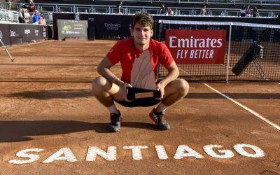 Tênis | Aos 19 anos, Thiago Wild torna-se o 9º brasileiro com título de ATP