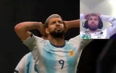Game | As reações de Agüero, no Fifa e na vida real. Realismo e vice do Brasil