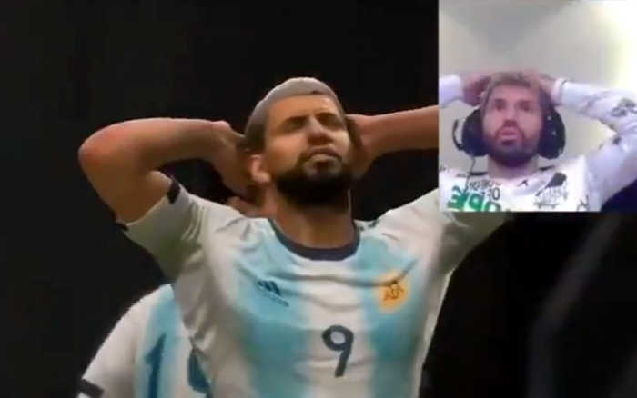 Game | As reações de Agüero, no Fifa e na vida real. Realismo e vice do Brasil
