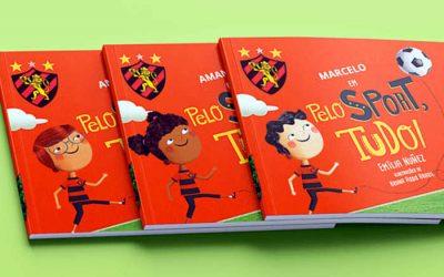 Livro | Sport lança obra infantil com personagem principal personalizável