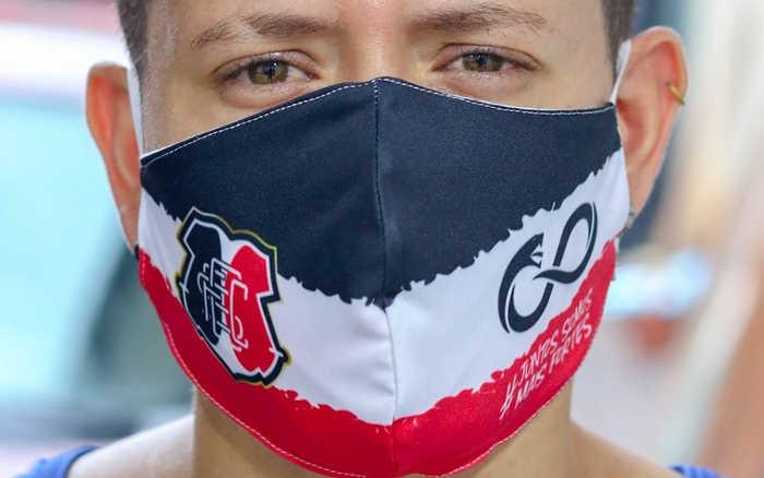 Coronavírus | Santa Cruz lança máscaras de proteção estilizadas